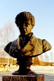 Niels Henrik Abel Memorial en Gjerstad Fotografía de archivo