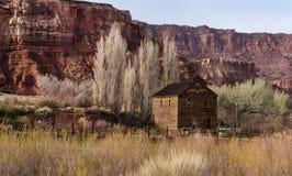 Nielsen Grist Mill, Torrey, Utah immagine stock libera da diritti
