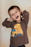 Niemądra chłopiec Zdjęcie Stock