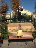 Niemądry i Mała Dziewczynko Fotografia Royalty Free