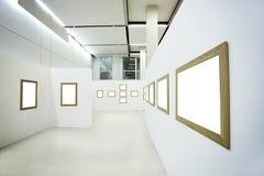 Niemand im Museumsinnenraum stockfoto