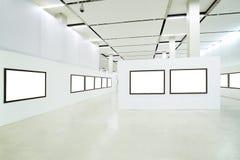 Niemand im Museumsinnenraum lizenzfreie stockbilder