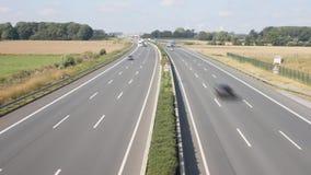 Niemcy Autobahn am etykietka - autostrada zbiory