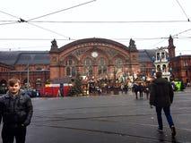 Niemcy Bahnhof zdjęcie stock