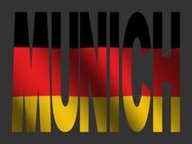niemcy bandery Monachium Obraz Stock