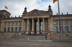 Niemcy berlin reichstagu budynku Luty 16, 2018 obrazy royalty free