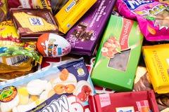 Niemcy, Czerwiec - 21, 2016: różni cukierki, cukierku rozsypisko Obraz Royalty Free
