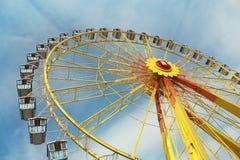 Niemcy Ferris koło Riesenrad, Hamburg - Zdjęcia Royalty Free
