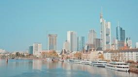 Niemcy Frankfurt magistrala, 14 2017 APR - Am - zdjęcie wideo