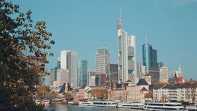 Niemcy Frankfurt magistrala, 14 2017 APR - Am - zbiory wideo
