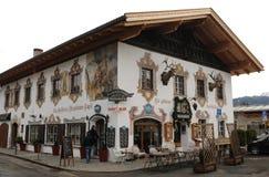 Niemcy: Gasthof Złoty Eagle zdjęcia stock