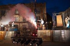Niemcy grupowy Tytaniczny w widowisku Fotografia Royalty Free