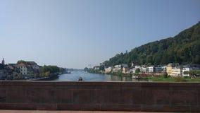 Niemcy Heidelberg spokoju zieleni krajobraz zdjęcia royalty free