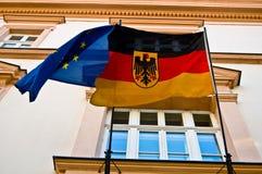 Niemcy i UE Zdjęcie Stock