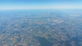 Niemcy linia horyzontu Obraz Royalty Free