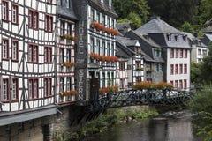 Niemcy Monschau, Eifel natury park - Obrazy Stock
