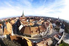 Niemcy, Thuringia, Muhlhausen, fotografia stock