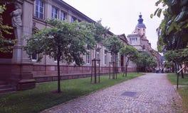 Niemcy: Wiosen rzymski gorący Friedrichsbad w Baden-Baden « obrazy royalty free