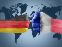 Niemcy x France Zdjęcie Royalty Free