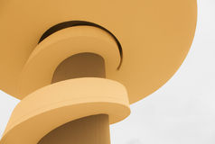 Niemeyer. Urban photography center Niemeyer Aviles (Spain Royalty Free Stock Images