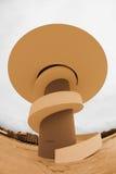 Niemeyer. Urban photography center Niemeyer Aviles (Spain Stock Photography