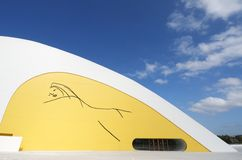 Niemeyer Center Royalty Free Stock Image