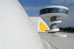 Niemeyer Center .AVILES . Spain Royalty Free Stock Photography