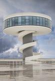 Niemeyer. Cultural Center in Aviles in Spain Stock Photo