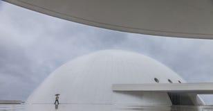 Niemeyer. Cultural Center in Aviles in Spain Stock Photos