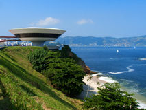 Niemeyer `s光盘 免版税库存图片