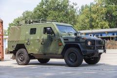 Niemiec światło opancerzający patrolowy pojazd Enok Zdjęcie Stock