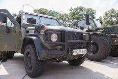 Niemiec światło opancerzający patrolowy pojazd Enok Obraz Stock