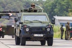 Niemiec światło opancerzający patrolowy pojazd Enok Obraz Royalty Free
