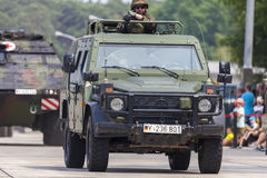 Niemiec światło opancerzający patrolowy pojazd Enok Obrazy Stock