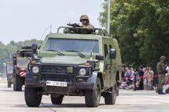 Niemiec światło opancerzający patrolowy pojazd Enok Zdjęcie Royalty Free