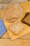 Niemiec całej banatki asortowany chleb Obraz Royalty Free