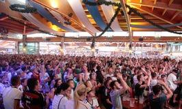 Niemiec fan 032 Zdjęcia Royalty Free