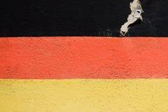 Niemiec flaga Zdjęcia Royalty Free