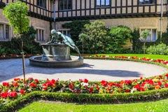 Niemiec Grodowy Cecilienhof w Potsdam, Niemcy Obraz Royalty Free