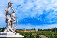 Niemiec grodowy Sanssouci, Potsdam, blisko Berlin Fotografia Stock