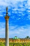 Niemiec grodowy Sanssouci, Potsdam, blisko Berlin Zdjęcia Royalty Free