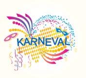 Niemiec Karneval royalty ilustracja
