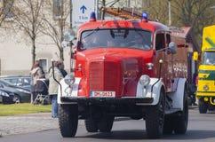 Niemiec Mercedes benz samochodu strażackiego oldtimer Fotografia Royalty Free