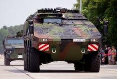Niemiec opancerzony ambulansowy pojazd, bokser Obrazy Royalty Free