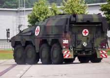 Niemiec opancerzony ambulansowy pojazd, bokser Obrazy Stock
