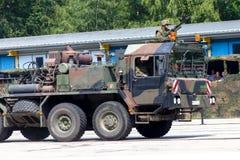 Niemiec SLT 50 Elefant trwała ciągnikowa jednostka i cysternowy transporter Fotografia Stock