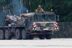Niemiec SLT 50 Elefant trwała ciągnikowa jednostka i cysternowy transporter Obrazy Royalty Free
