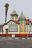 Niemiec stylowy budynek w Swakopmund, Namibia Obraz Stock