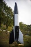 Niemiec WW2 V2 rakieta Zdjęcia Royalty Free