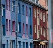 Niemieccy budynki w Essen zdjęcia stock
